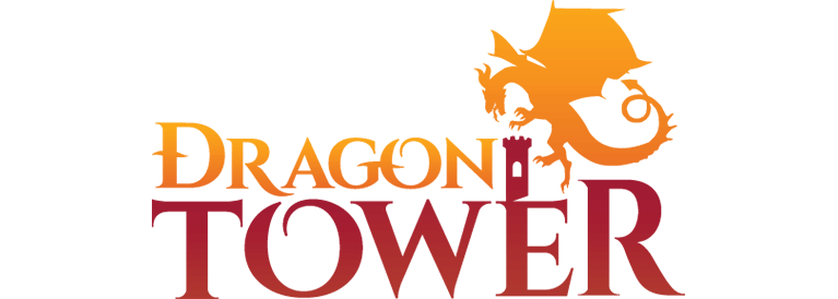 Logo for Dragon Tower, a VR escape room